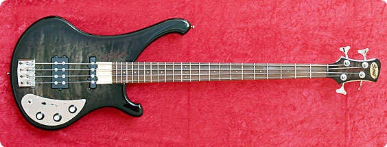 Schloff Guitars Rocktyfier Tomcat 4 String Black Shadow