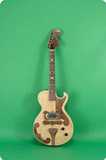 Rc Allen Bigsby Style Guitar 2010 Natural