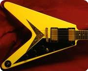 Gibson Flying V FF82 1982 Blonde