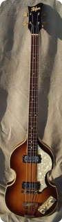 Hofner Violin Bass 500/1 1966 Violin Sunburst