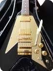 Gibson Lenny Kravitz Flying V Custom Shop 1 Of 125 Black Gold