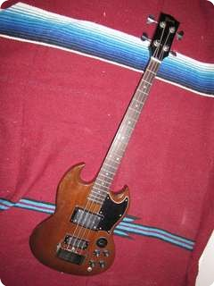 Gibson Eb 3 1974 Walnut