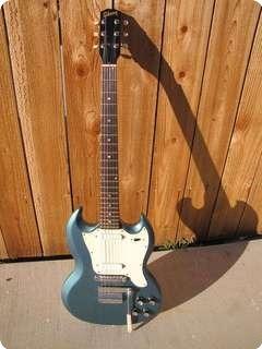 Gibson Melody Maker Sg Style 1966 Pelham Blue Custom Color