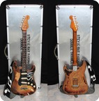 Visual Clone Guitars Stevies Number One 2008 Aged 3 Tone Sunburst