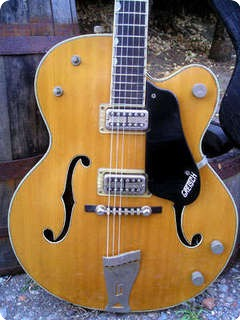 Gretsch Country Club  6193 1960 Blond   Natural