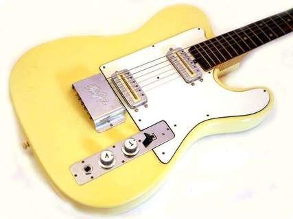 Hofner 175(ii) 1972 Yellowed White