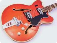 Hofner Verythin 1969 Antic Red