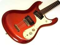 Mosrite 12 String 1966 Candy Apple Red