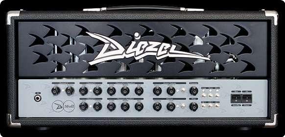 Diezel D Moll Metal Front 2013 Black