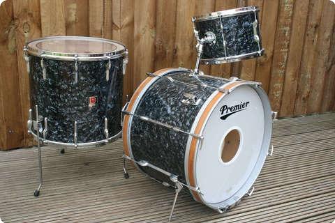 premier 54 model 1960 39 s original black diamond pearl drum for sale rusty drums. Black Bedroom Furniture Sets. Home Design Ideas