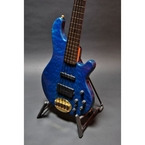 Lakland 55 94 USA 2008 Trans Blue Quilt