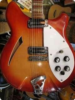 Rickenbacker 360 1966 Fireglo