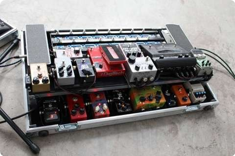 Custom Pedal Boards Large Gigrig Pro 14 Board Made To