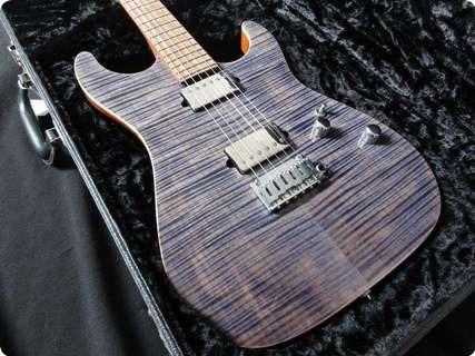 Suhr Standard Flamed Maple! Pau Ferro/mahogany 2012 Trans Blue Denim Slate