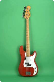 Fender Precision Bass 1979 Morocco Red