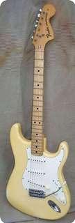 Fender Stratocaster 1973 White Creme