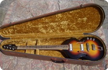 Vox-Violin Bass Acoustic V250-1960-Sunburst