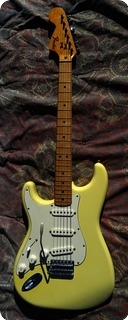 Fender Stratocaster Lefty Left 1975 White Creme