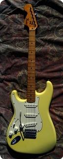 Fender Stratocaster Lefty Left 1975 White Creme