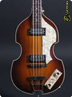 Hofner 500/1 Beatles Bass 1965 Sunburst