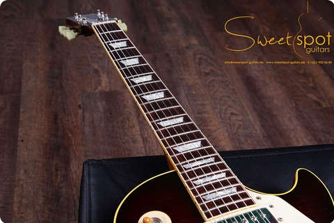 Gibson Les Paul Standard 1959 Historic Reissue R9   Custom Shop Dapra Burst 2001 Dapra Burst