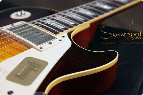 Gibson Les Paul Joe Perry Aged By Tom Murphy 2013 Darkburst