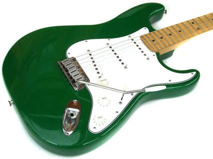 Fender Stratocaster 1993 Candy Apple Green