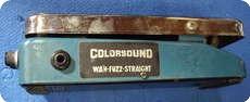 Colorsound Wha Fuzz 1970