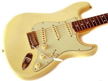 Fender Stratocaster '62 Us Reissue 2003 Olympic White