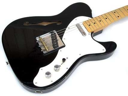 Fender Custom Shop Telecaster Thinline 2005 Black