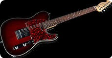 Katar Kustom Kuitars TK Red Burst