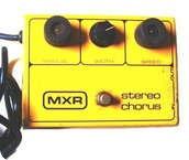 Mxr Stereo Chorus 1978