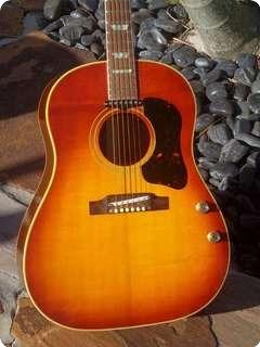 Gibson J 160e 1966 Ice Tea Sunburst