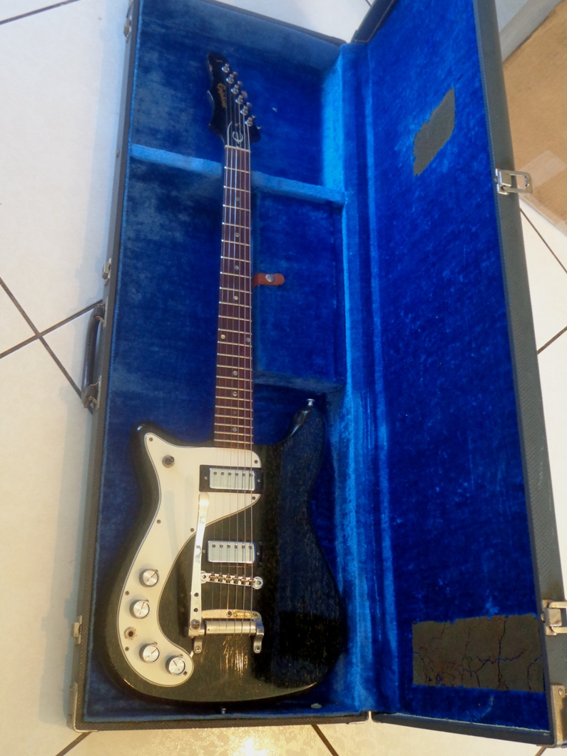 Epiphone Wilshire LH 1966 Silver Fox Guitar For Sale