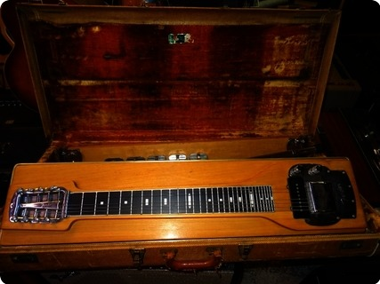 Fender Model 400 Pedal Steel (5 Pedal, 8 String Version) 1958 Blond