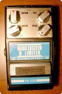 Guyatone Ps 020 Bass Exciter & Limiter Double Effect 1989