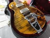 Gibson Les Paul Standard Joe Perry Boneyard Bigsby Tiger