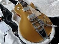 Gibson LP 295 Les Paul Goldtop Florentine Cutaway Bigsby 2008 Goldtop