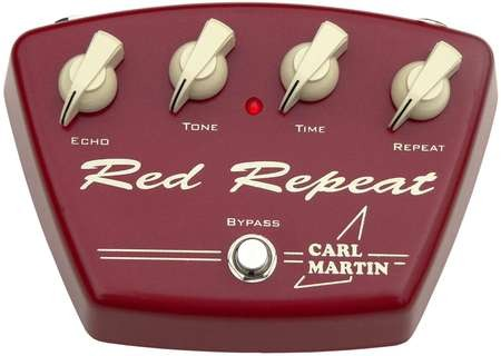 Carl Martin Red Repeat  Red