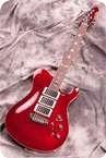 Schloff Guitars T Paul Burgundy Red