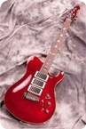 Schloff Guitars T Paul Burgundy Red
