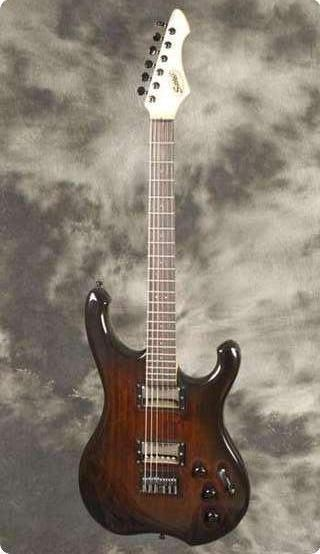 Schloff Guitars Incas Dark Redburst