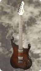 Schloff Guitars Incas Dark Redburst