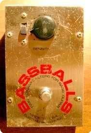 Electro Harmonix Bass Ballstwin Dinamic Filters 1979