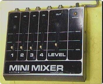 Electro Harmonix Mini Mixer 4 1980