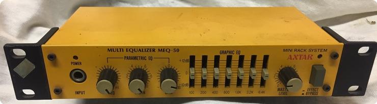 Axtar Meq50 Equalizer Graphic & Parametric 1980