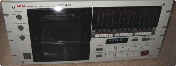 Akay Mg14d Analog 12 Track Rec. & Synk Controller 1988