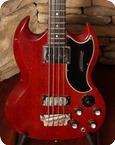 Gibson EB 3 1964 Cherry Red