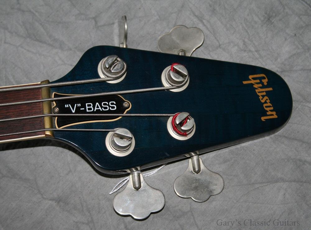 Gibson Flying V 1982 Blue