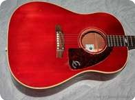 Epiphone Texan 1968 Cherry Red